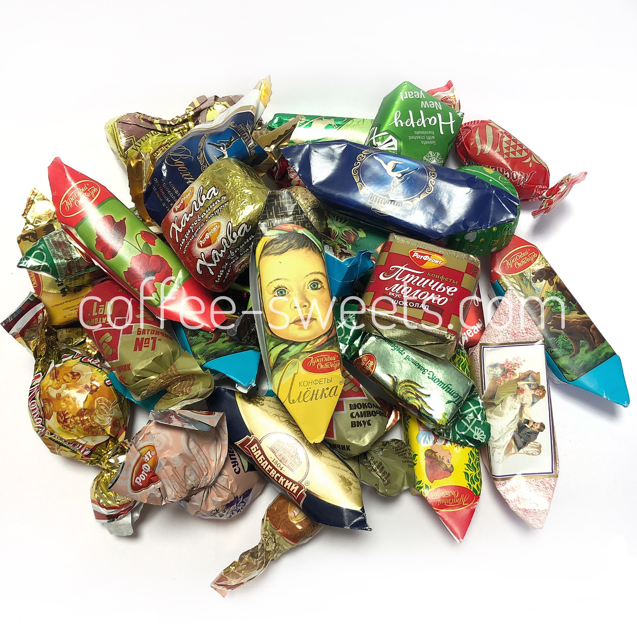 Набор конфет 500г Рот Фронт + Красный октябрь + Бабаевские