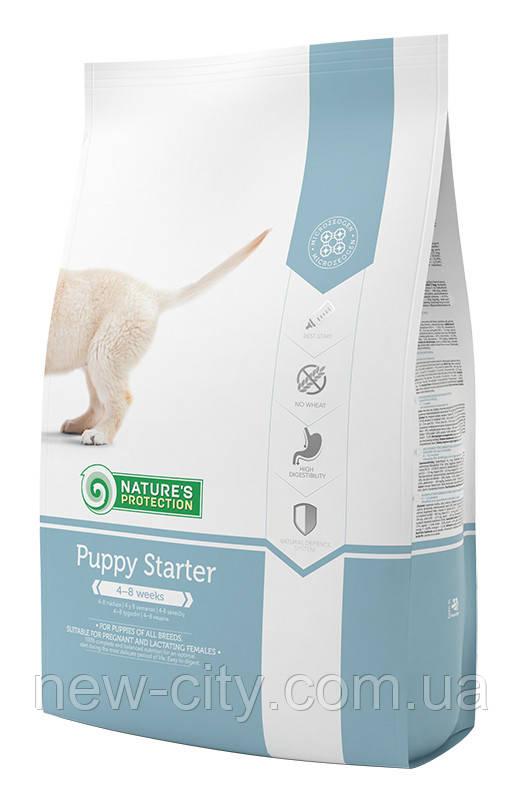 Корм Nature's Protection (Натур Протекшн) Puppy Starter для щенков всех пород и кормящих сук, 2 кг