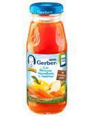 Яблочно-морковный сок с мякотью гербер gerber, 200мл