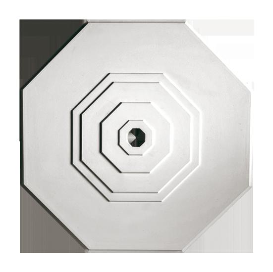 Розетка потолочная из гипса р-141 Ø460