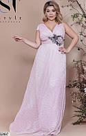 Платье женское вечернее в пол, размер:48-50, 50-52