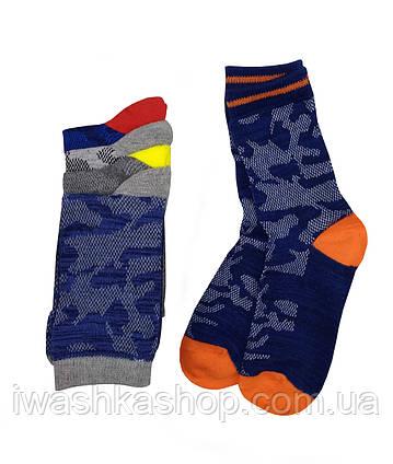 Комплект летних носков на мальчика 3 - 6 лет, р. 27 - 30, Rebel by Primark.