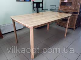 Стіл прямокутний дерев'яний 148 x 88 cm, h 75 cm