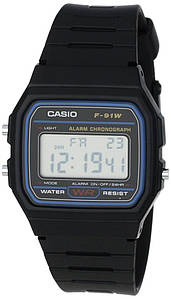 Годинник Casio - Classic F91 Watch Navy/Black