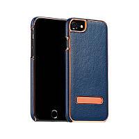 Панель Hoco Platinum series litchi grain fiber для iPhone 7 Plus Deep Blue (NG-4-1949_2)