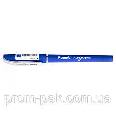 Гелева синя ручка Autographe Axent