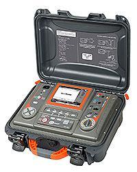 Мегаомметр MIC-10k1UA, вимірювач опору електроізоляції до 40 ТОм напругою до 10000В