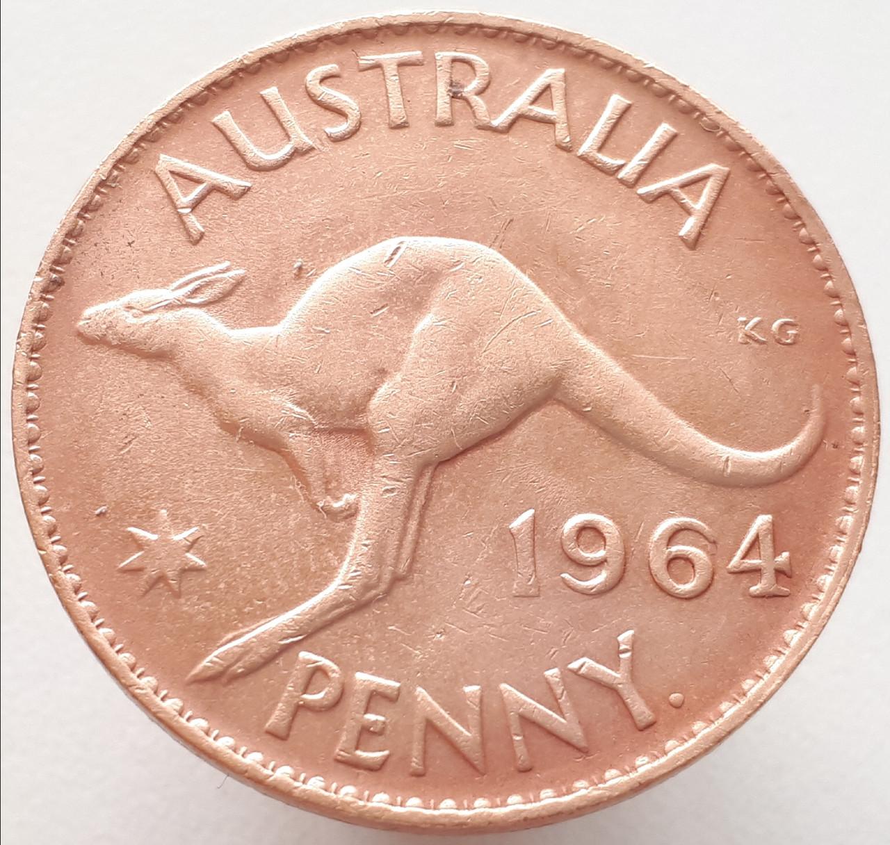 Австралия 1 пенни 1964