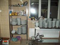 Стеллажи из нержавейки на 5 полок 1000/400/1800 мм