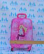 Чемодан детский дорожный качество Эконом ручная кладь для девочки Холодное Сердце-44см  0486-1\19-012-4, фото 6