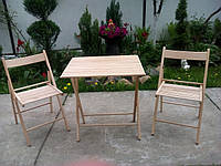 Набор розкладной мебели из бука