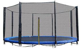 Защитная сетка 12 фт 366-374 см, 8 столбиков, внешняя