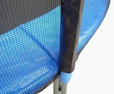 Защитная сетка 12 фт 366-374 см, 8 столбиков, внешняя, фото 3