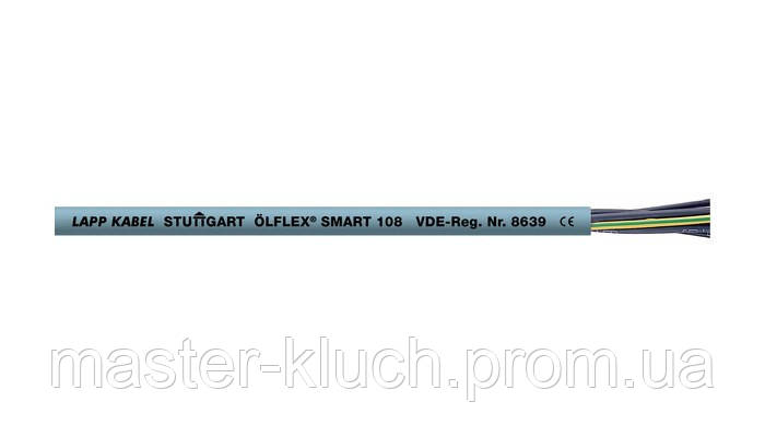 Кабель ÖLFLEX® SMART 108 2*1.5