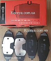 Колодки тормозные передние (к-кт) Сенс, Ланос. Remsa 96316582