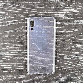 Чехол накладка для Samsung Galaxy M10 M105FD силиконовый, Air Case Прозрачный