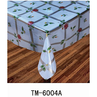 Клеенка (6004A) силиконовая, без основы, рулон. Китай. 1,37м/30м