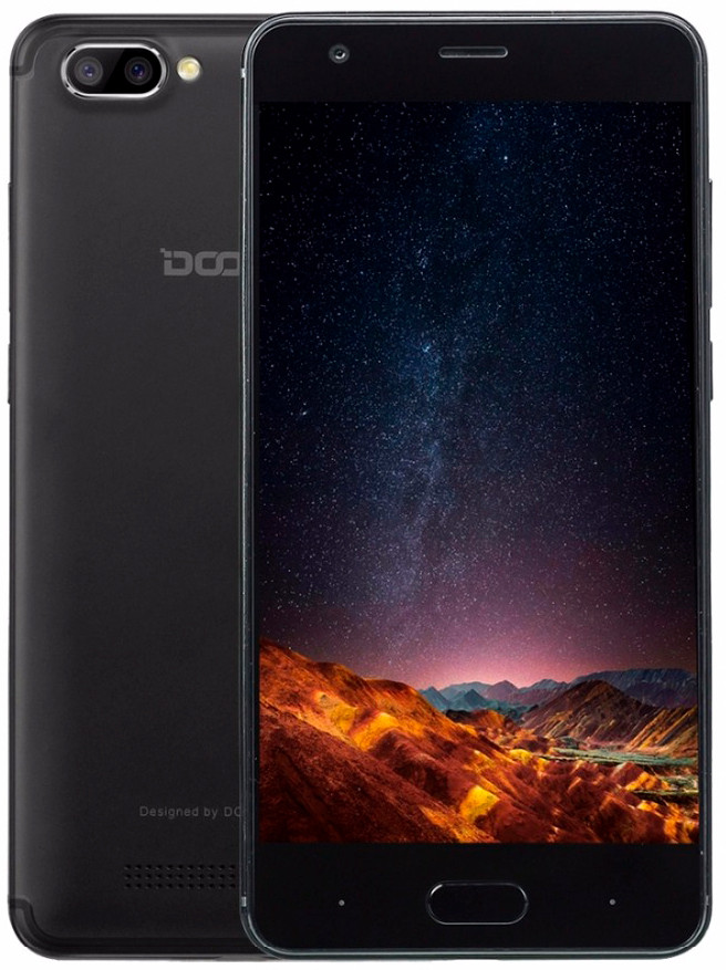 Doogee X20 1/16Gb Black\Gold\Silver  EU