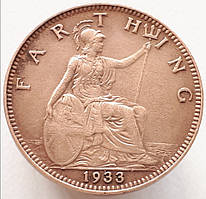 Великобритания 1 фартинг 1933