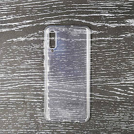 Чехол накладка для Samsung Galaxy A50 A505FD силиконовый, Air Case Прозрачный