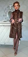 Пальто с леопардом Модель 200201927, фото 1