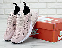 Кроссовки женские в стиле Nike Air Max 270 Pink (Реплика ААА+), фото 1