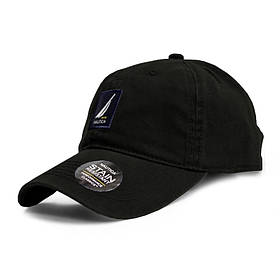 Бейсболка NAUTICA черная, кепка блайзер