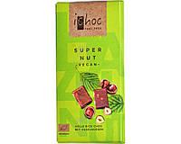 Шоколад с лесными орехами iChoc органический, 80 г