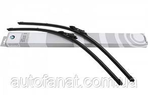 Щеток стеклоочистителя BMW X5, X6 (F15, F85, F16, F86), передние оригинальные (61610039697)