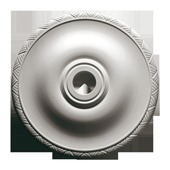 Розетка из гипса р-185 Ø550