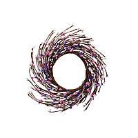 ТМ Кактус Венок весенний розово-фиолетовый 22см