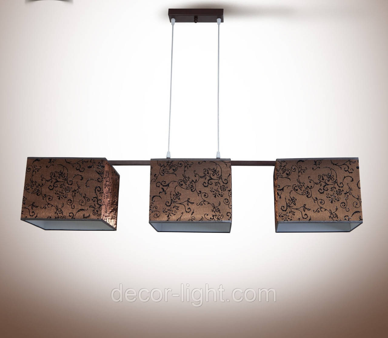 Люстра 3-х ламповая, металлическая для спальни, кухни, детской 19333-4