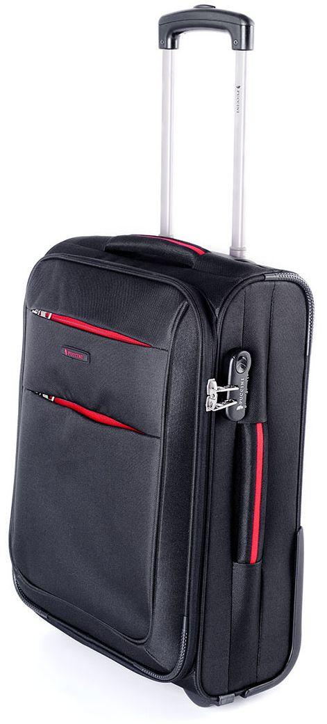 Двухколесный тканевый малый чемодан 35 л. Puccini Camerino 5700/1 черный