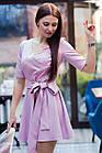 Стильное праздничное платье (2 в 1) для девушек - 2019  - Код пл-562, фото 2