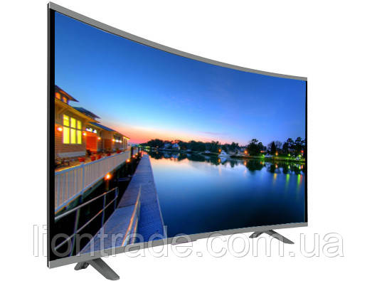 "LCD LED Телевизор JPE 32"" Изогнутый HD экран T2, USB, HDMI, VGA"