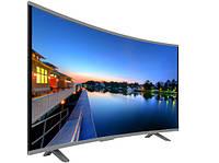"""LCD LED Телевизор JPE 32"""" Изогнутый HD экран T2, USB, HDMI, VGA, фото 1"""