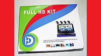 DVR WiFi KIT HD720 4-канальный Беспроводной Видеорегистратор (4 камеры в комплекте)