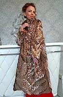 Пальто из рыси. Модель 20010192, фото 1