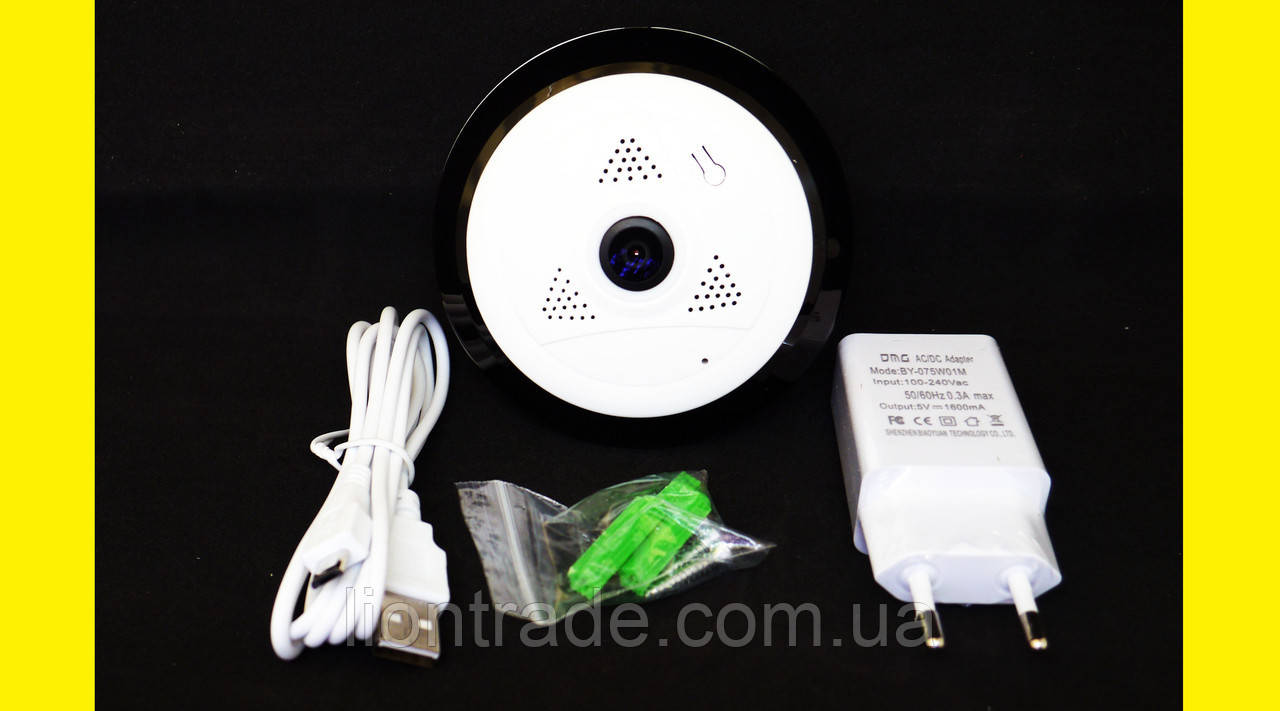 Панорамная IP камера EC10-I6 рыбий глаз 360 градусов