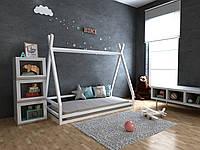Детская Деревянная кровать домик-Вигвам Моана ТМ MegaOpt