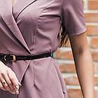 Элегантное женское платье с вышивкой - модель 2019  - Код пл-281, фото 2