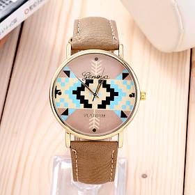 Годинник / кожзам, метал / Китай