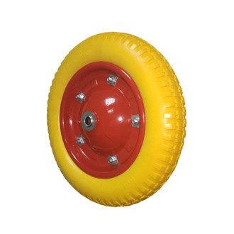 Колесо без кронштейна с шариковым подшипником 62-340х65-B