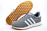 Кроссовки мужские в стиле Adidas Iniki Runner, Серый