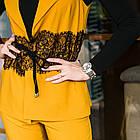 Нарядный женский костюм с вышивкой - модель 2019  - Код км-280, фото 2