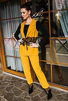 Нарядный женский костюм с вышивкой - модель 2019  - Код км-280, фото 1