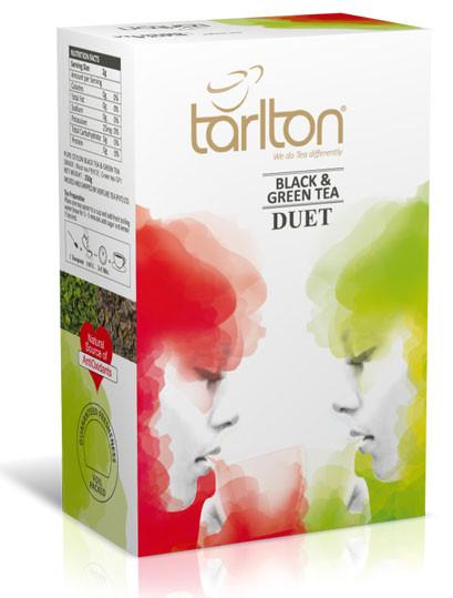 Чай черный и зеленый крупнолистовой Тарлтон Duet 250 г