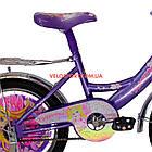Детский велосипед Mustang Принцесса 16 дюймов фиолетовый, фото 6