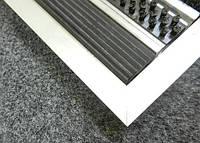 Грязезащитный коврик  «Лен» наполнение (резина+щетка+скребок)
