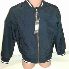 Бомбер куртка  для мальчика синяя  Primark р.104, 110см
